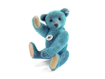 Steiff Teddy Bear Blue Replica 1908