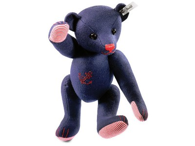 Steiff Felt Teddy Bear Blue