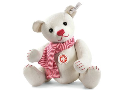 Steiff White Felt Teddy Bear