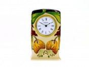 Moorcroft Pottery Anna Lily Clock CL1