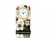 Moorcroft Pottery Bramble Revisited Clock CL1