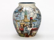 Moorcroft Pottery Coming to America 61/10