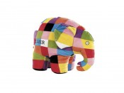 Elmer Large Plush Soft Toy