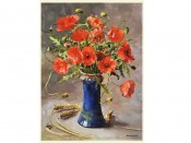 Anne Cotterill 'Poppies'-Giclee Print
