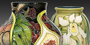 Selection of gifts to buy online from Ashwood Nurseries including Moorcroft, Steiff, Elliott Hall and much more...